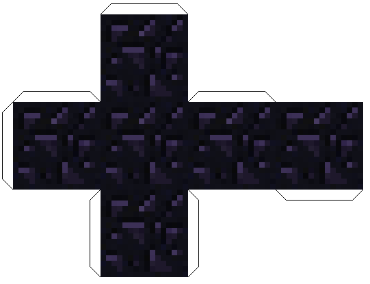 minecraft obsidianblock, minecraft обсидиан